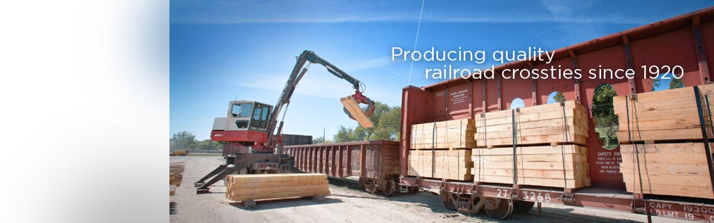 Producing quality railroad crossties since 1920